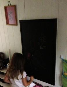 Crib Bottom Chalkboard